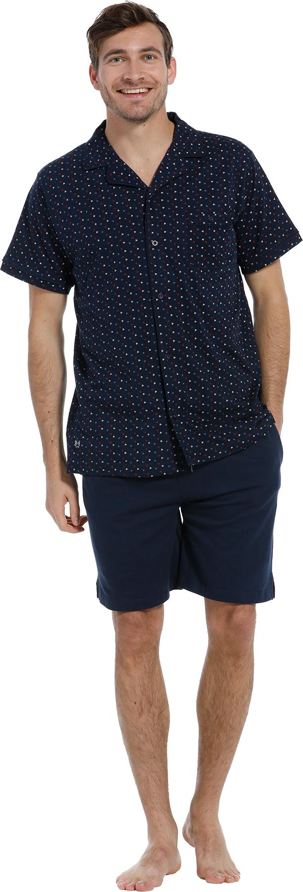 Mix & Match heren doorknoop shirt Pastunette 4399 624 7