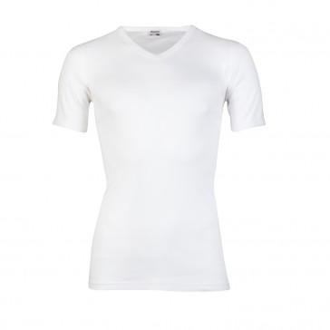 Beeren shirt 100% katoen V hals EXTRA LANG + 5 cm