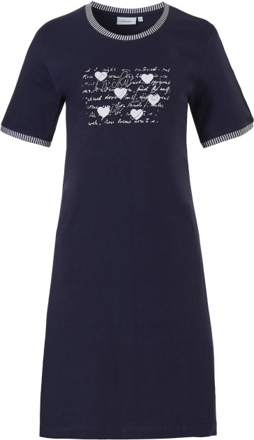 Dames nachthemd Pastunette 10211-136-3 blauw