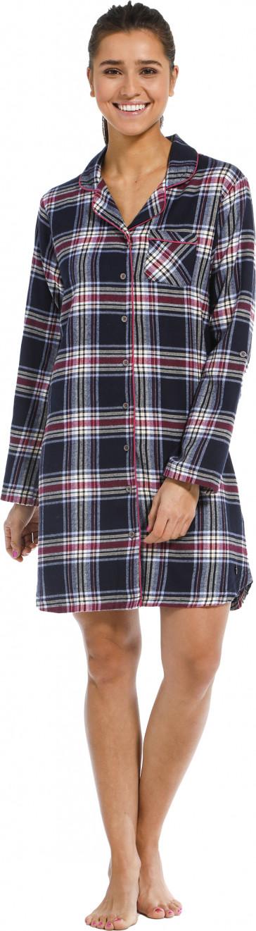 Dames nachthemd Rebelle flanel 11212-446-6