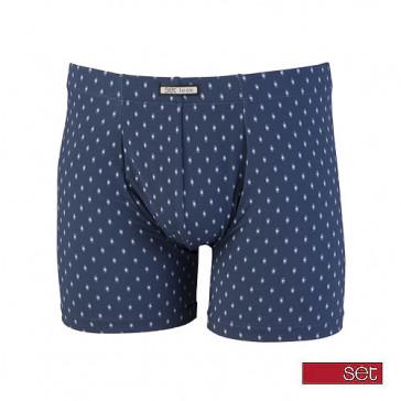 Set boxershort 18495 blauw