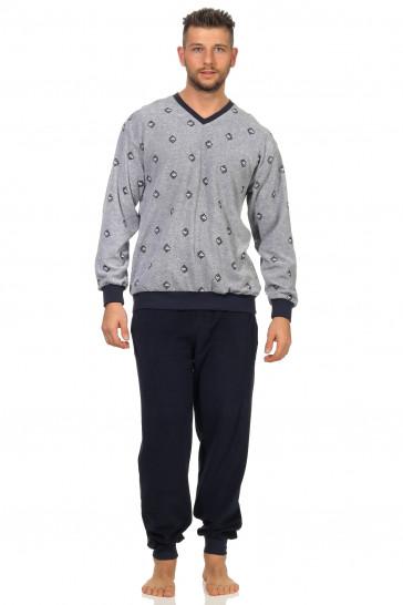 Heren badstof pyjama Normann 93454