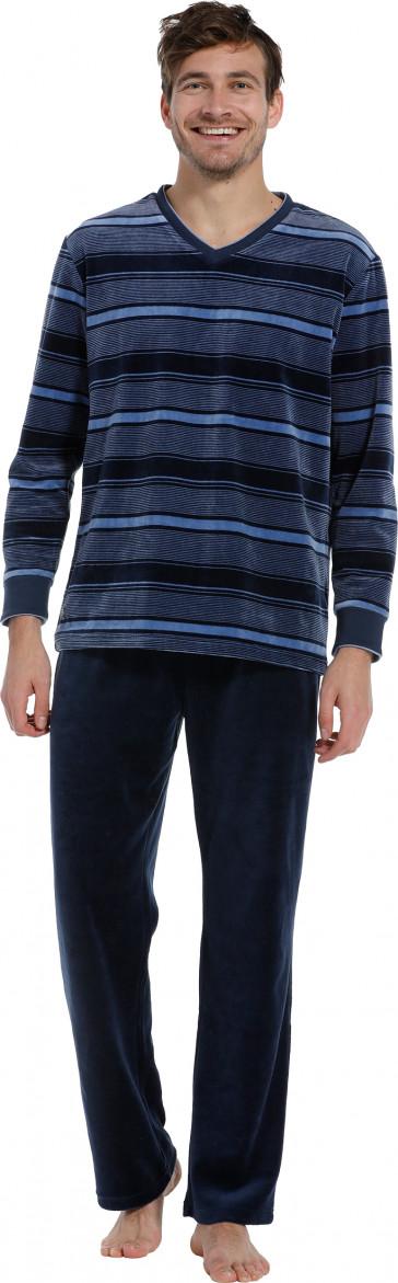 Heren pyjama velours Pastunette 23202-603-2