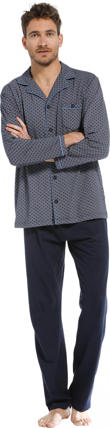 Heren doorknoop pyjama Pastunette 23212-600-6