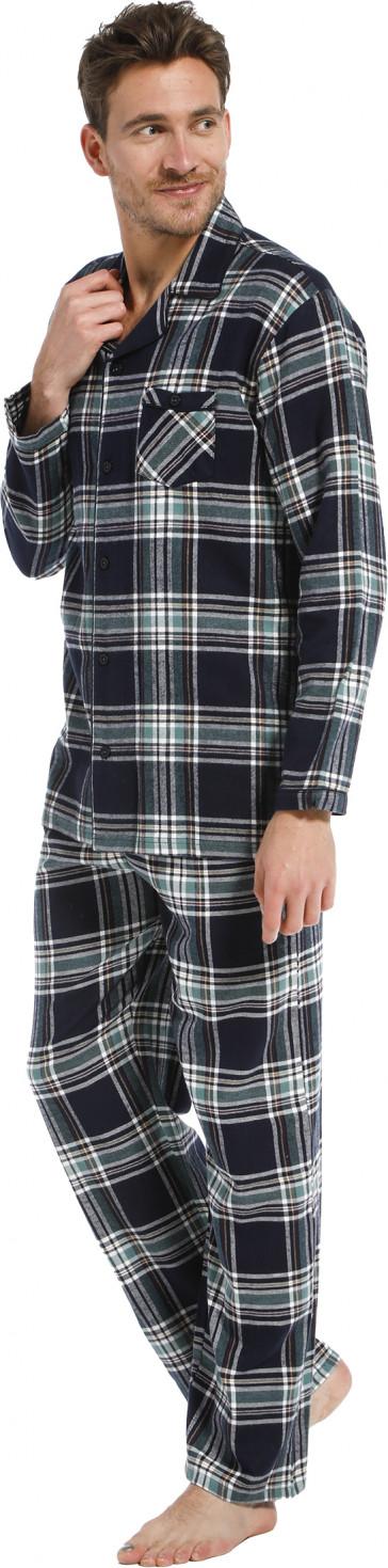 Heren pyjama Pastunette flanel 23212-620-6