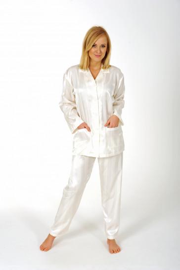 Dames pyjama Normann satijn 94010