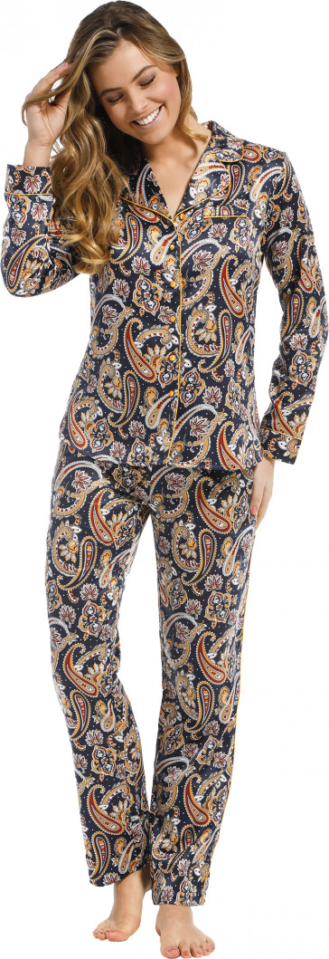 Dames pyjama satijn Pastunette De Luxe 25212-316-6