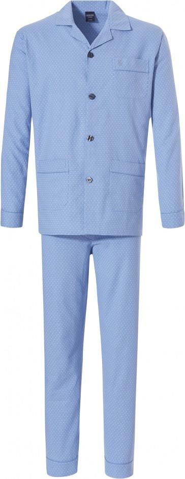 Heren pyjama Robson doorknoop 27192-701-6
