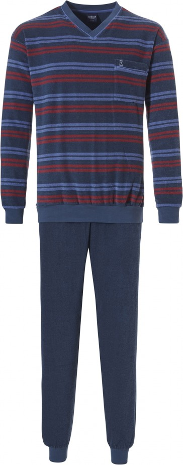 Heren pyjama Robson badstof 27192-712-2