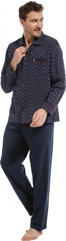 Heren pyjama doorknoop Robson 27212-702-6
