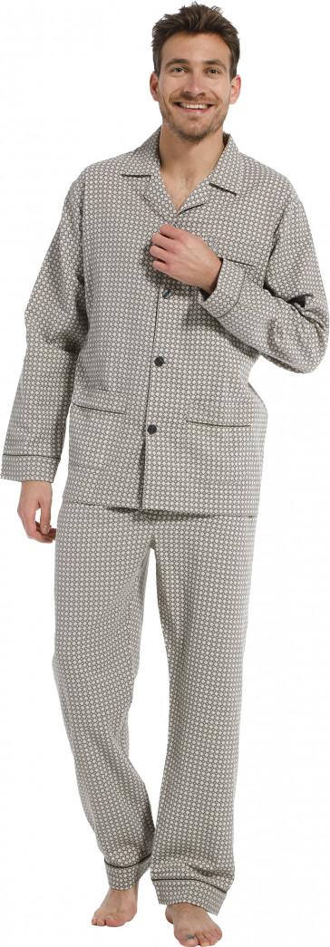 Robson heren pyjama flannel 27212-708-6