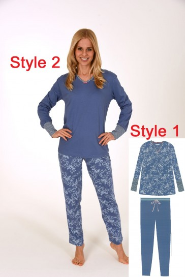Dames pyjama 100% katoen 59604