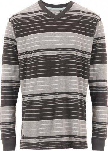 Mix & Match heren shirt lange mouw Pastunette 4399-622-2 grijs