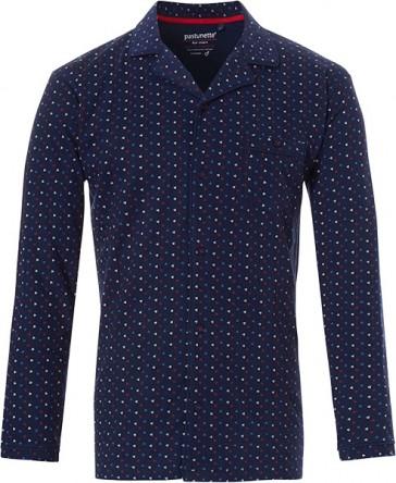 Mix & Match heren doorknoop shirt lange mouw Pastunette 4399-624-6