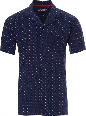 Mix & Match heren doorknoop shirt Pastunette 4399-624-7