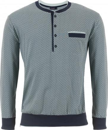 Mix & Match heren shirt lange mouw Pastunette 4399-628-4
