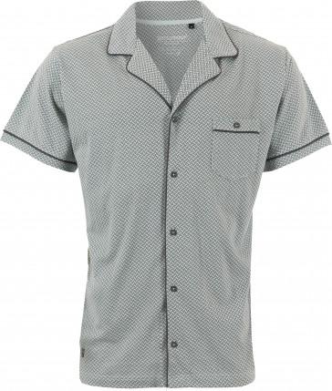 Mix & Match heren doorknoop shirt Pastunette 4399-628-7