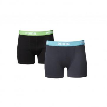Puma jongens boxershorts 2 pak 525015001 - 376