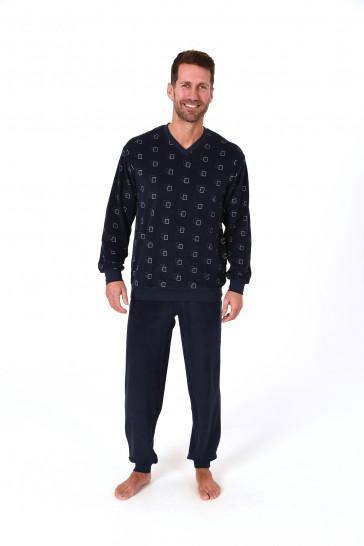 Heren pyjama badstof 65399