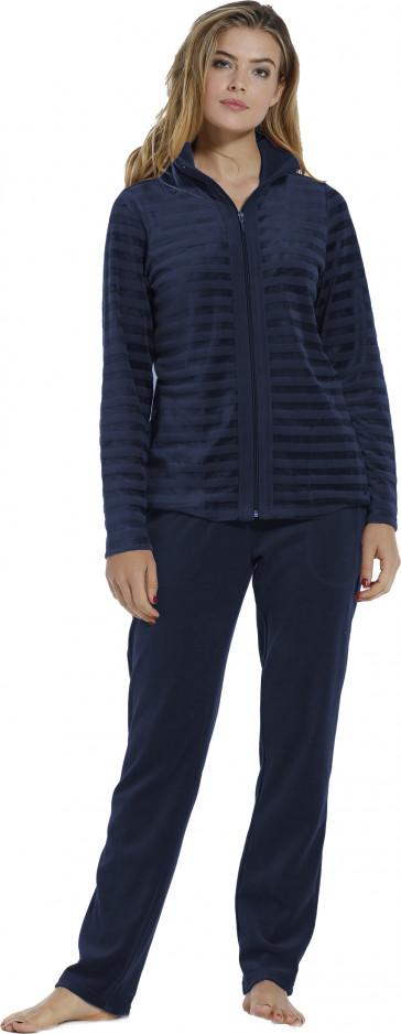 Dames huispak Pastunette De Luxe 85202-350-8 blauw