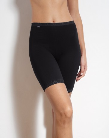 Sloggi dames basic long zwart