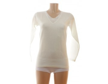 Entex thermo onderblouse lange mouw