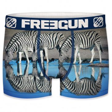 FreeGun heren boxer Zebra