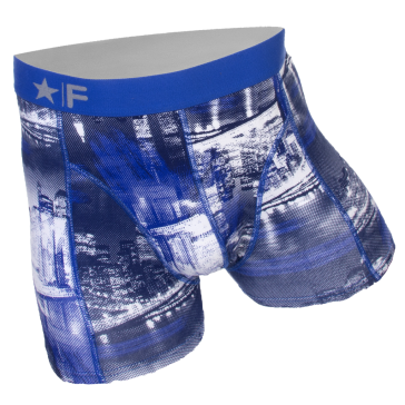 Funderwear heren boxer 76001 Night City bleu