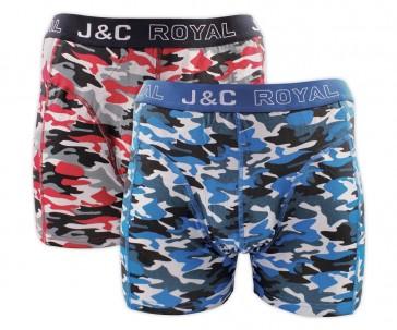 J&C heren boxer 2 pak 30050