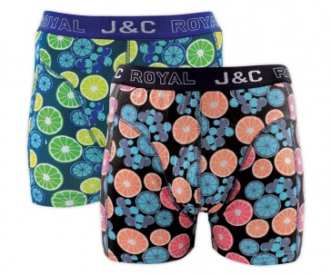 J&C heren boxer 2 pak 30054
