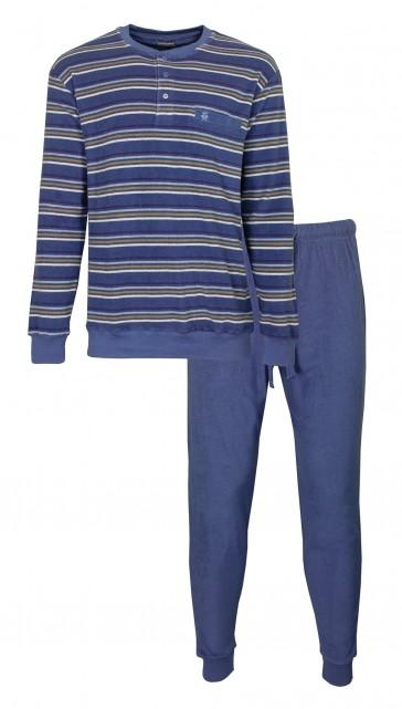Heren pyjama badstof PH 2916A