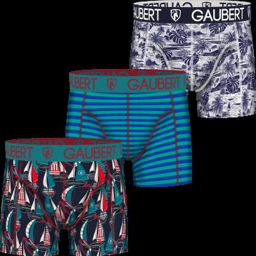 Gaubert 3 pak heren boxershorts set 6
