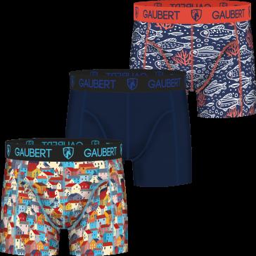 Gaubert 3 pak heren boxershorts bamboe set 8
