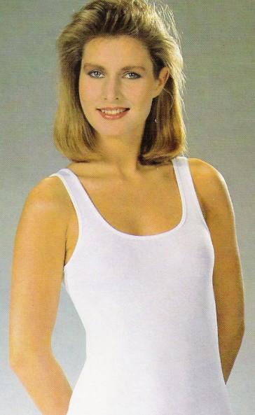 Twentini dames hemd elastische katoen