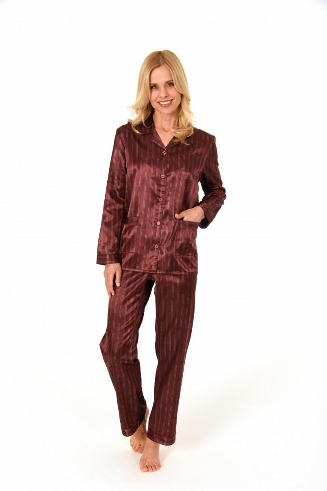 abe150c74cd Dames pyjama Norman Satijn 94002
