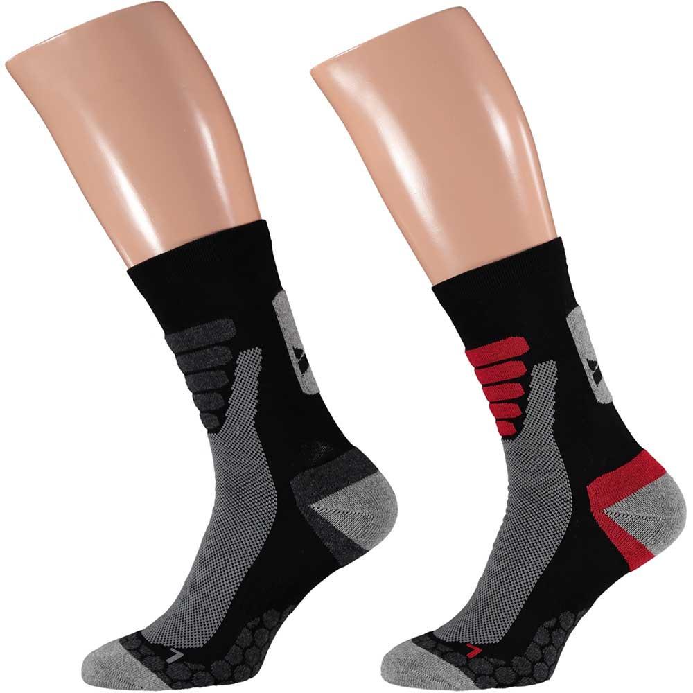 Xtreme walking socks 2 pak 12265-39/42-Zwart
