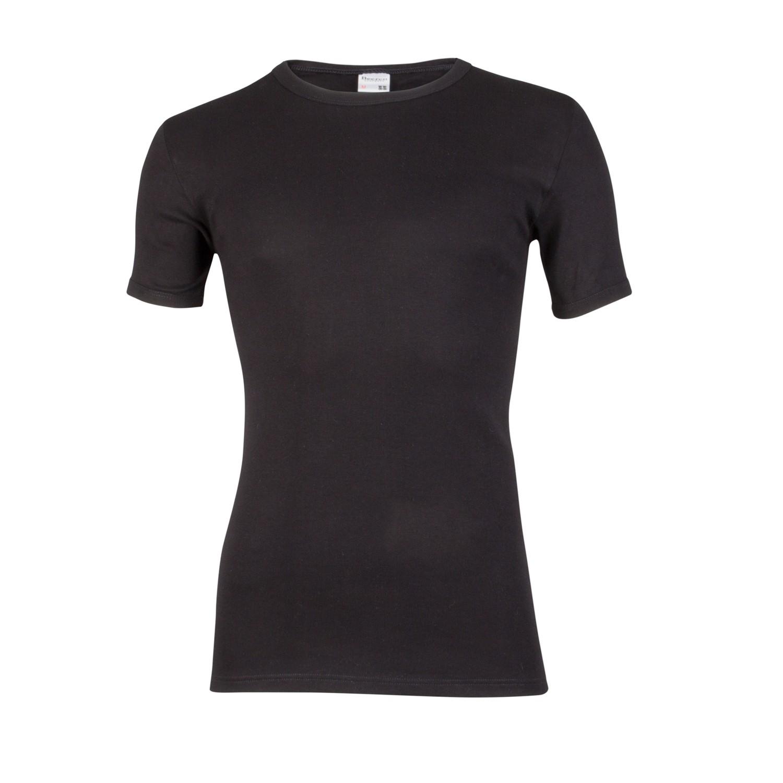 Beeren shirt 100% katoen EXTRA LANG + 5cm.-XL-Zwart