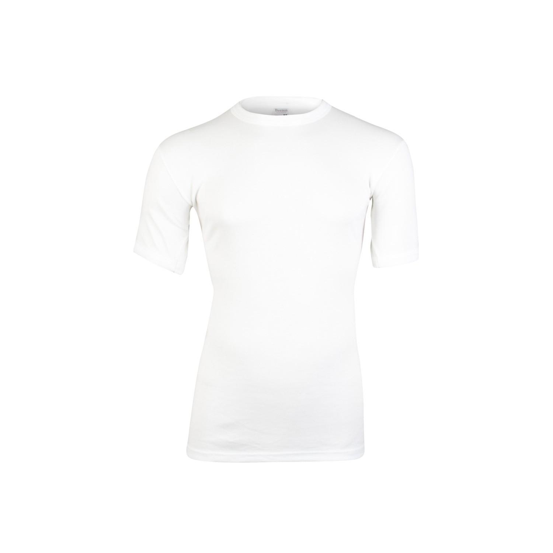 Image of Beeren heren hemd thermo korte mouw-L-Gebroken wit