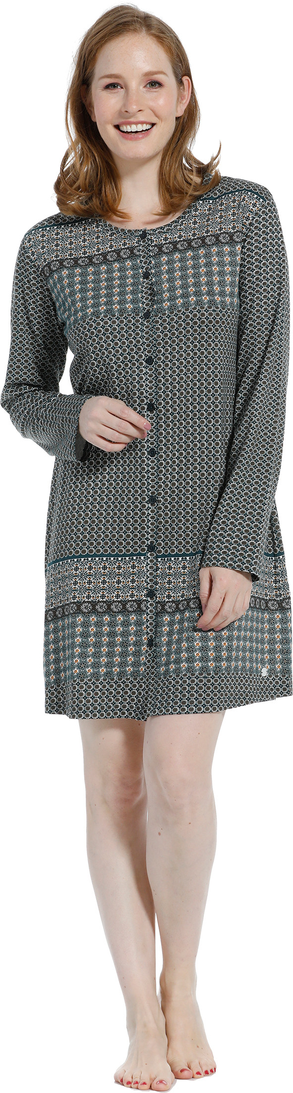 Dames doorknoop nachthemd Pastunette 10202-148-6-40