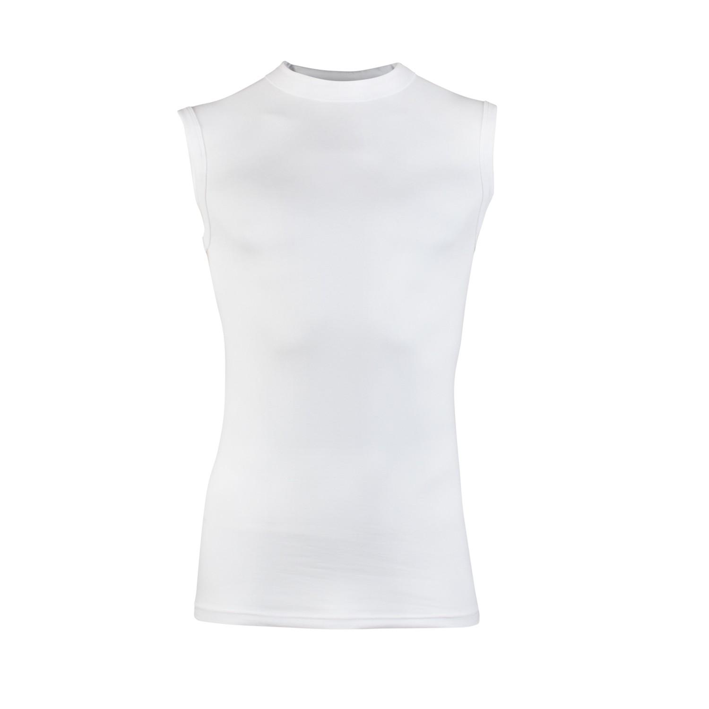 Beeren Shirt Comfort feeling mouwloos-L-Wit