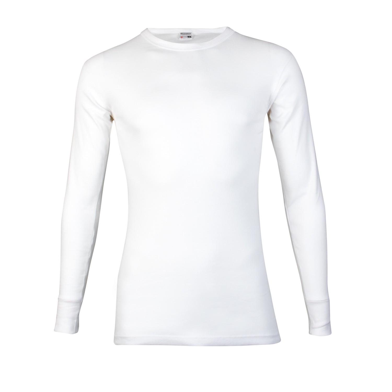 Beeren 100% katoen shirt lange mouw M3000-L-Wit
