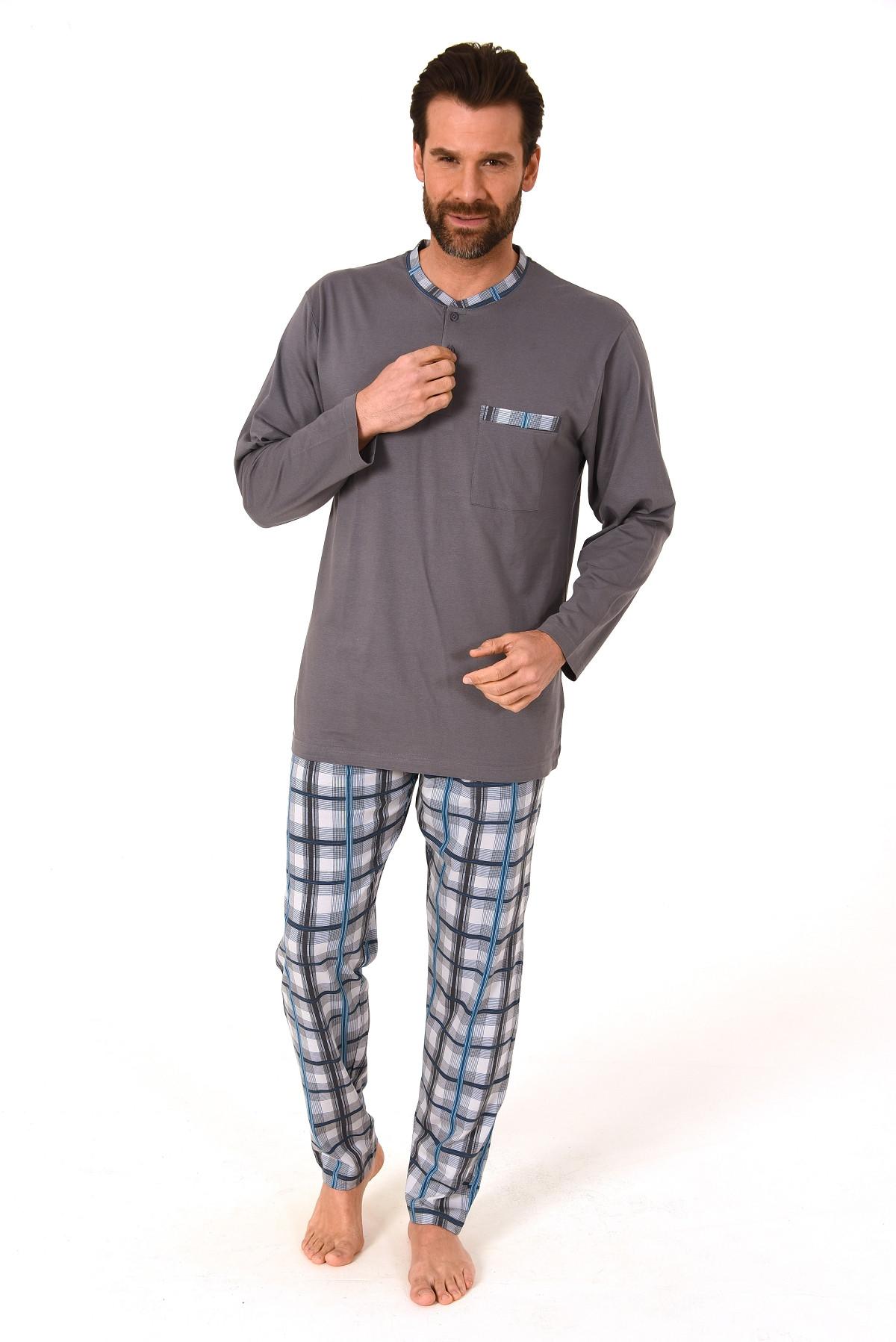 Heren pyjama Trend 10414-58-Grijs