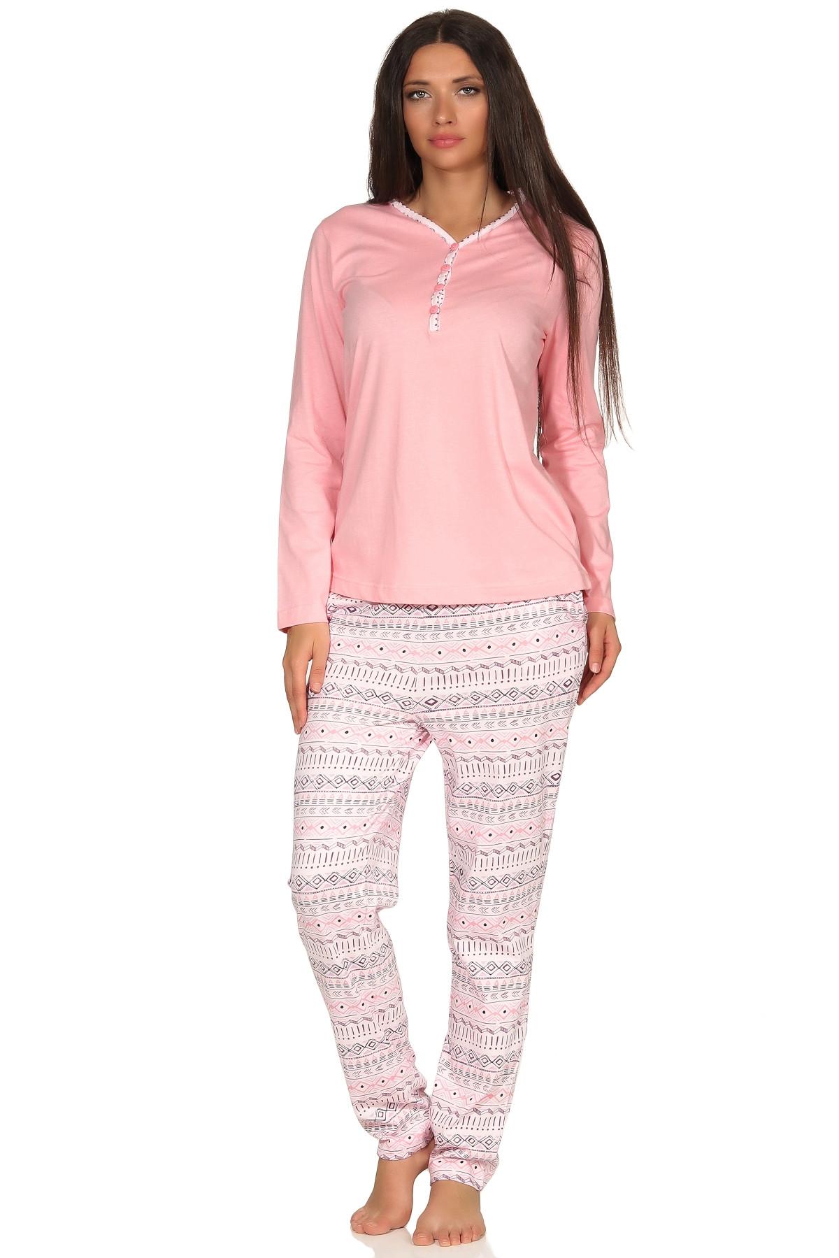 Dames pyjama Creative 66393-S 36/38-Blauw