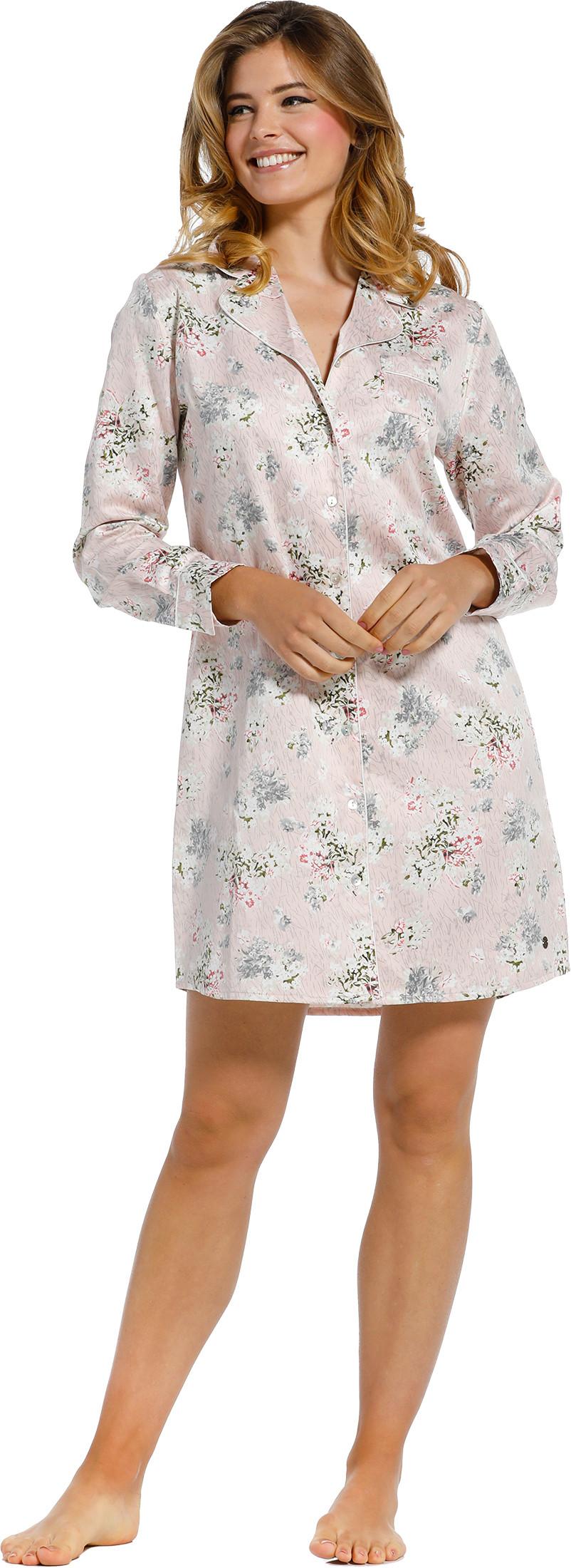 Dames nachthemd Pastunette de Luxe satijn 15211-301-6-42