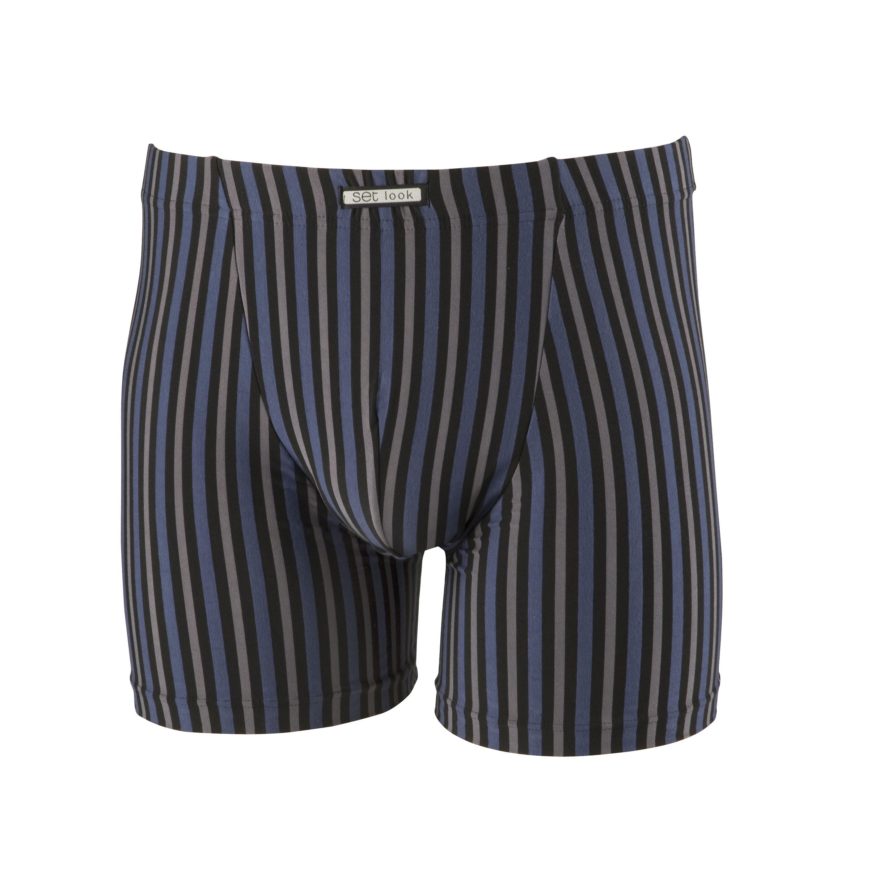 Set boxershort 17533 - 2769 blauw-M
