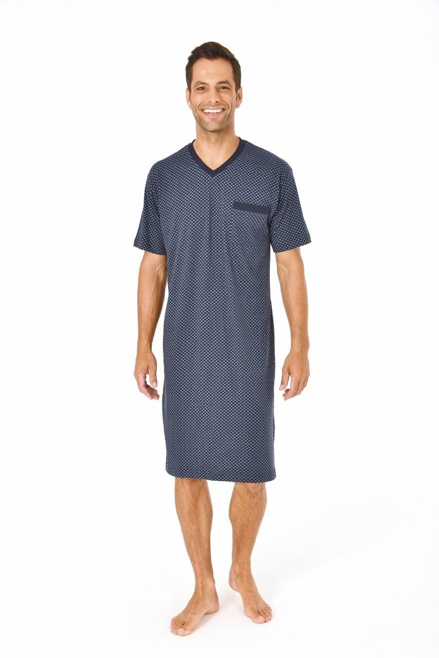 Van Van Gemert Ondermode Heren nachthemd Normann 90518-48-Donker Blauw Prijsvergelijk nu!