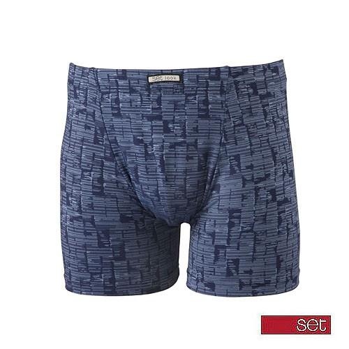 Set boxershort 19510 blauw-L