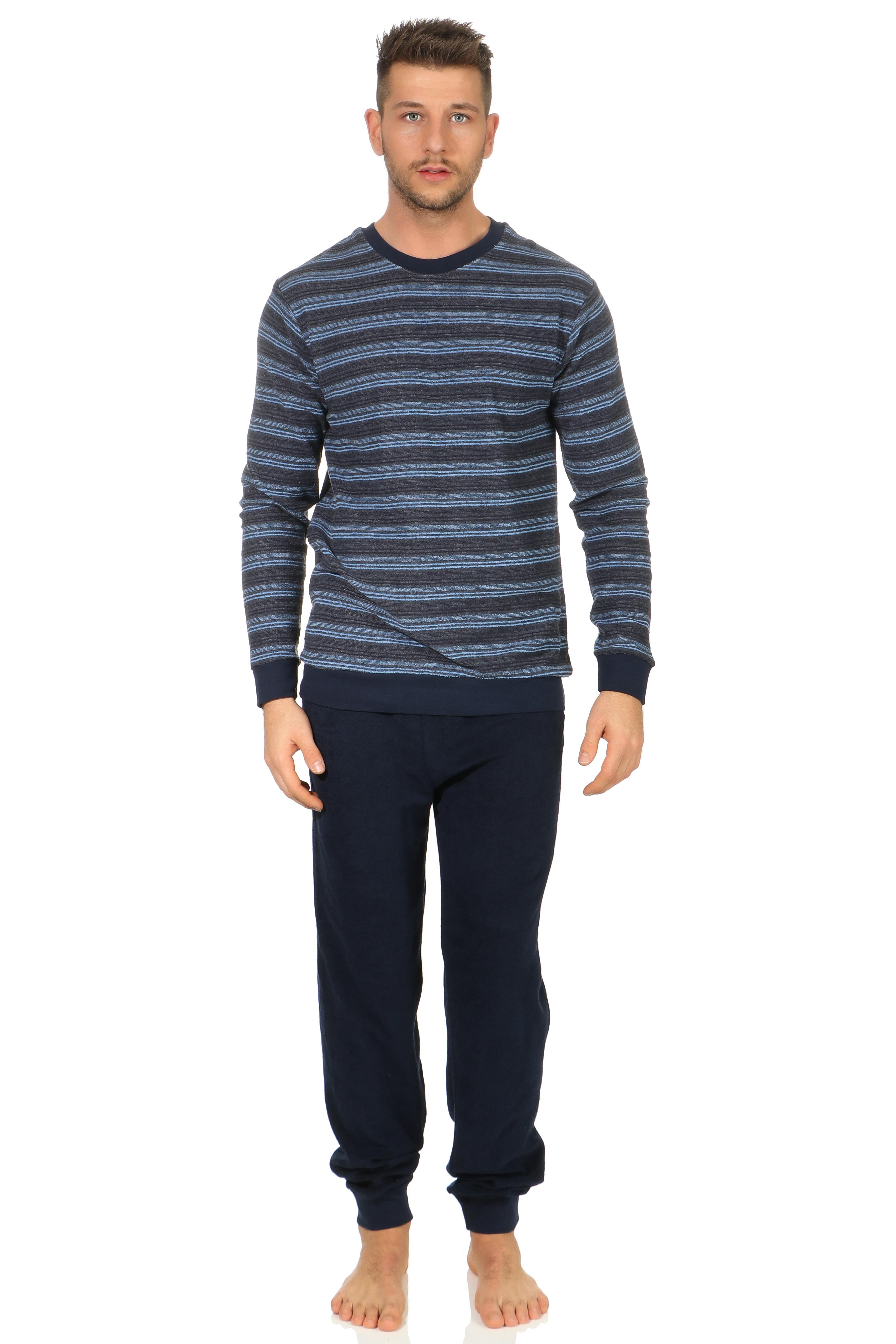 Normann badstof pyjama Trend 67206-58-Grijs