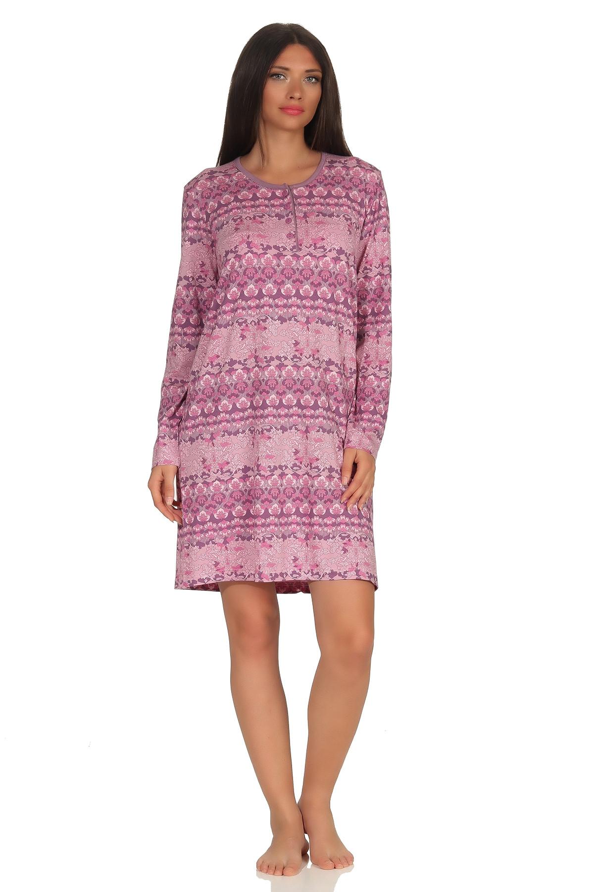 Dames nachthemd Normann 90419-XL 48/50-Lila