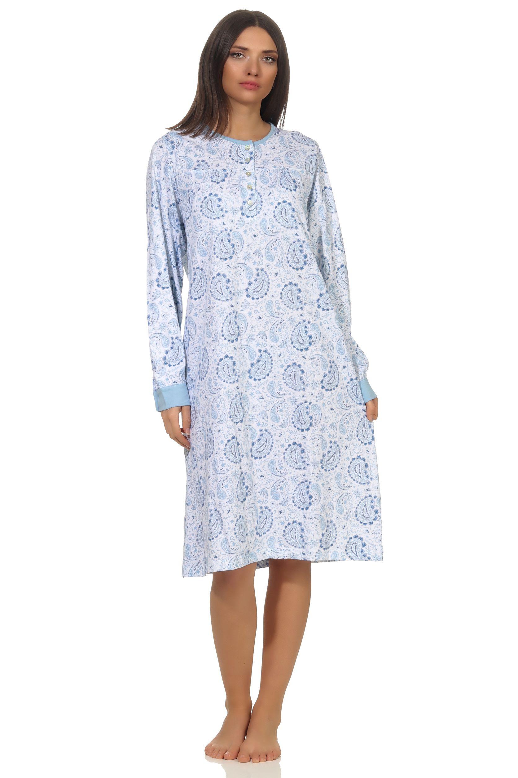 Normann dames nachthemden Creative 67437-S 36/38-Blauw